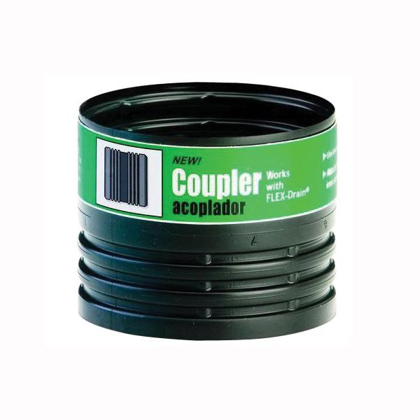 Picture of Amerimax 55020 Pipe Coupler, 4 in, Female, 70 psi Pressure
