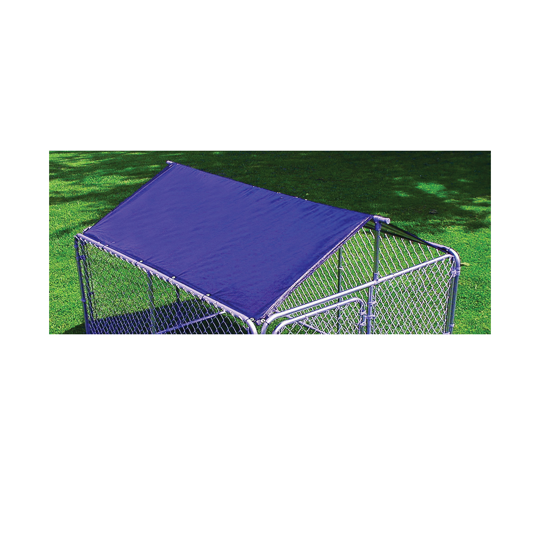 Picture of Stephens Pipe & Steel DKR10100 Kennel Roof and Frame, Solid, Steel