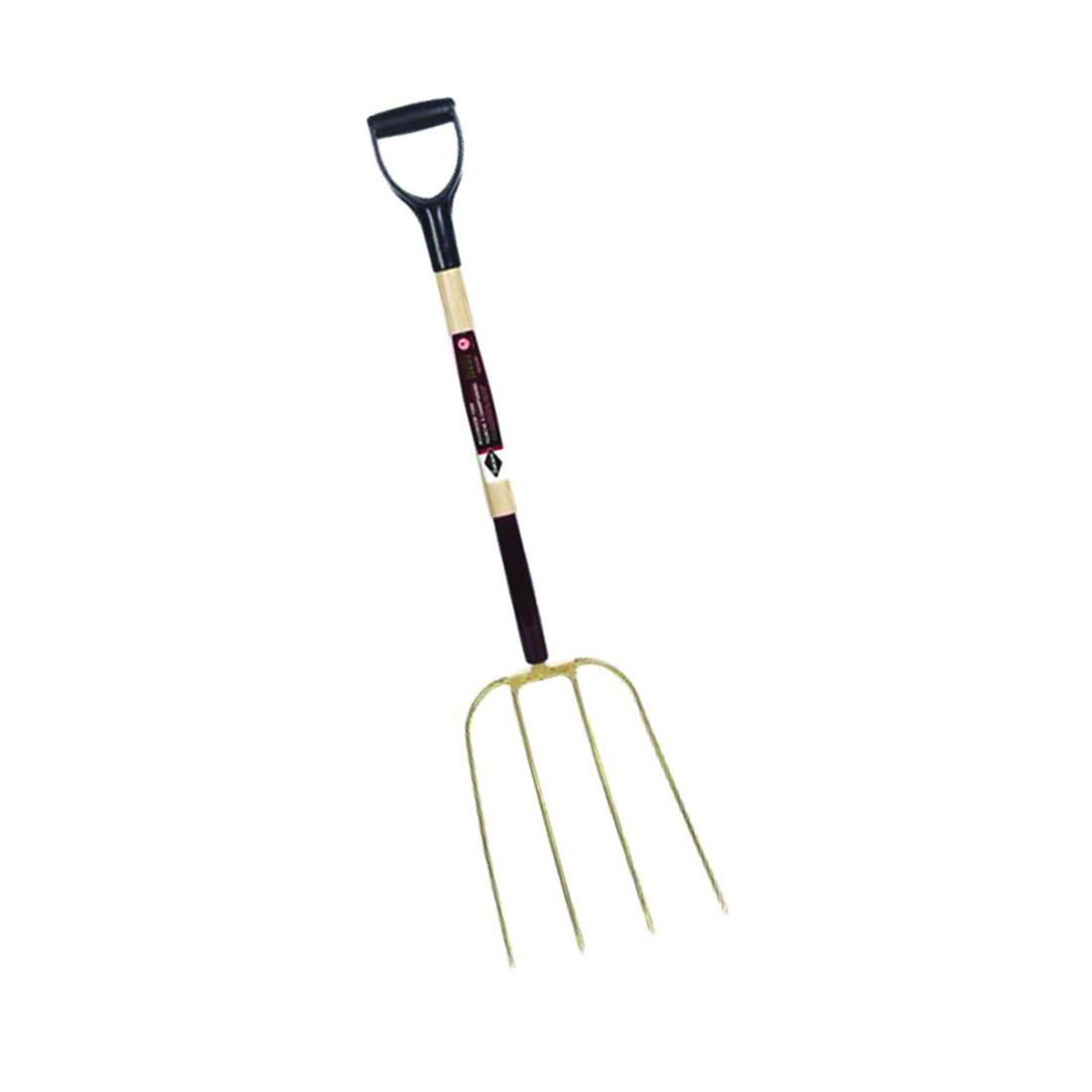 Picture of GARANT G0415DU Mushroom Fork, 4 -Tine, Steel Tine, Gold, 30 in L Handle