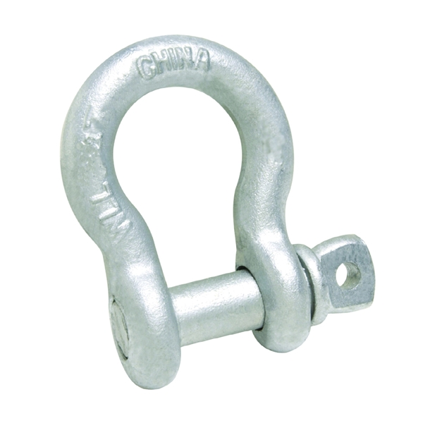 Picture of BARON 193LR-1/4 Anchor Shackle, 0.5 ton Working Load, Steel, Galvanized