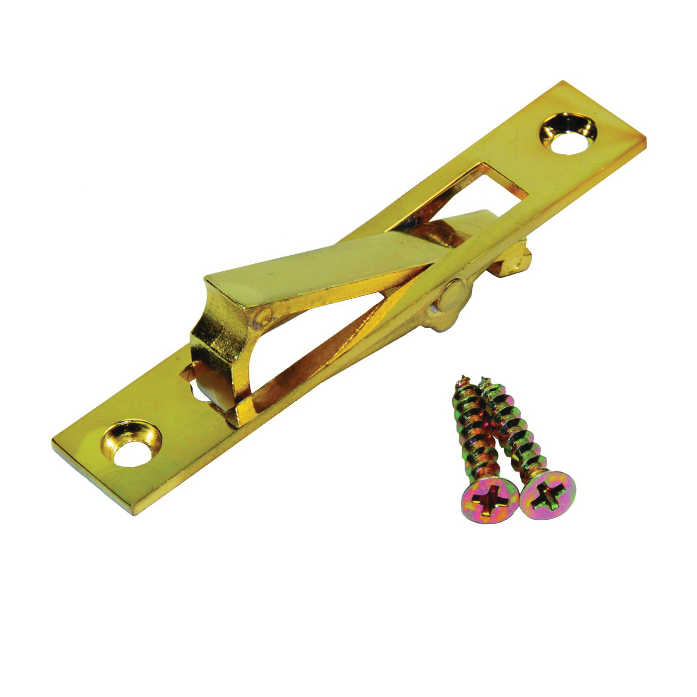Picture of Johnson Hardware 150-3PK1 Door Edge Pull, 0.62 in W, 2.94 in H, Aluminum, US3 Brass