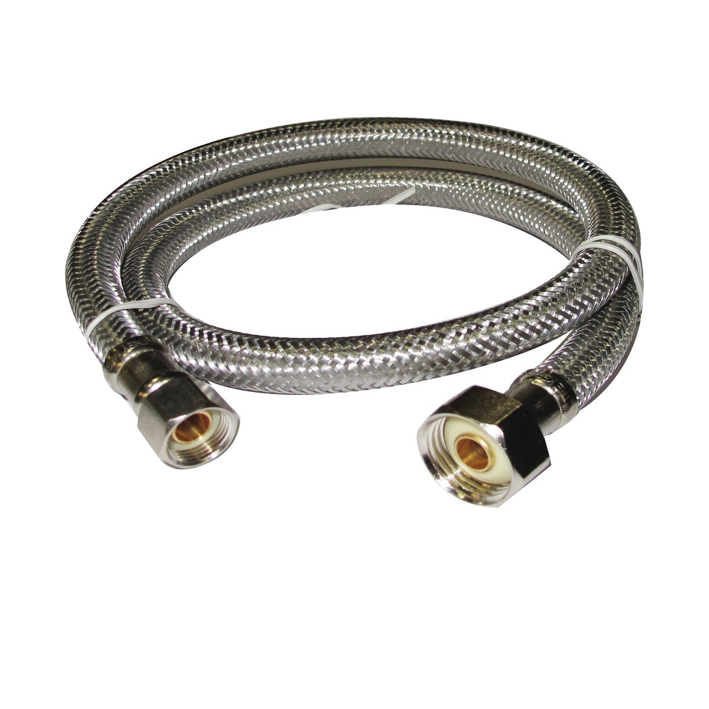 Picture of Plumb Pak EZ Series PP23808 Sink Supply Tube, 3/8 in Inlet, Compression Inlet, 1/2 in Outlet, FIP Outlet, 30 in L