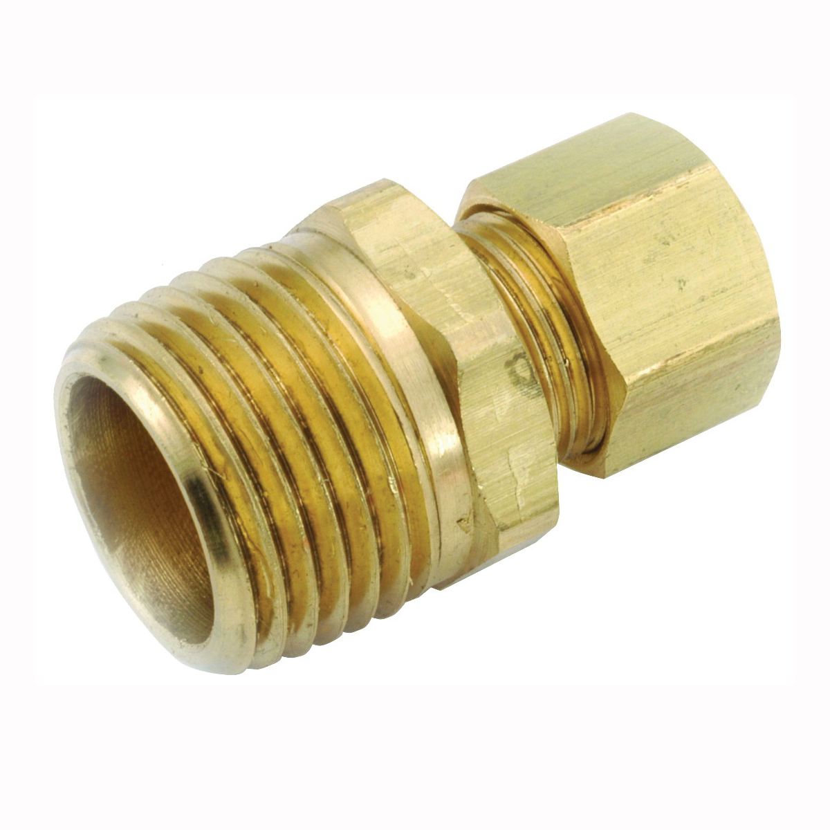 Picture of Anderson Metals 750068-1008 Connector, 5/8 in Compression, 1/2 in Male