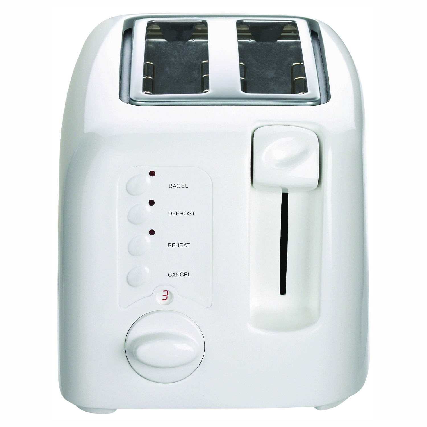 Picture of Cuisinart CPT-122 Electric Toaster, 900 W, 2 Slice/Hr, Manual Control, Plastic, White