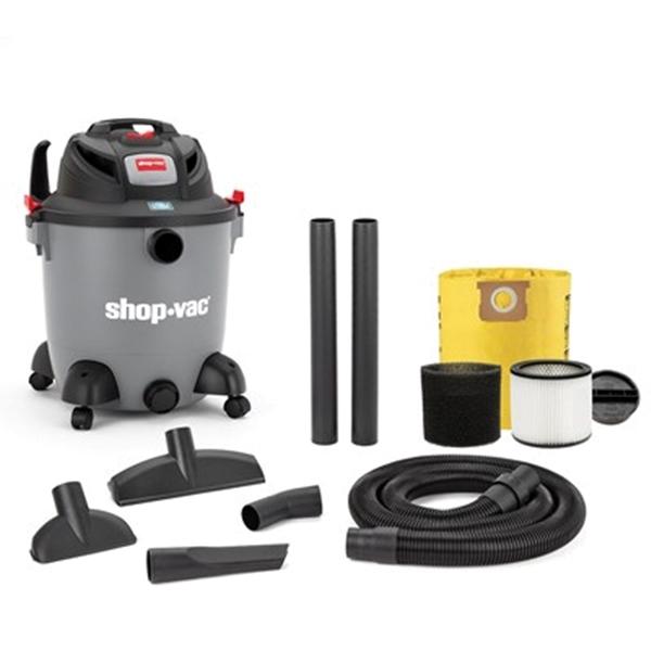 Picture of Shop-Vac 8251200 Wet/Dry Vacuum, 12 gal Vacuum, Cartridge Filter, 5.5 hp, 120 V