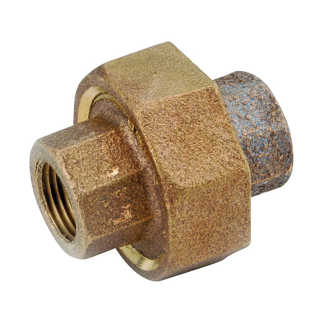 Picture of Anderson Metals 738104-08 Union, 1/2 in, FIPT, Red Brass, 200 psi Pressure