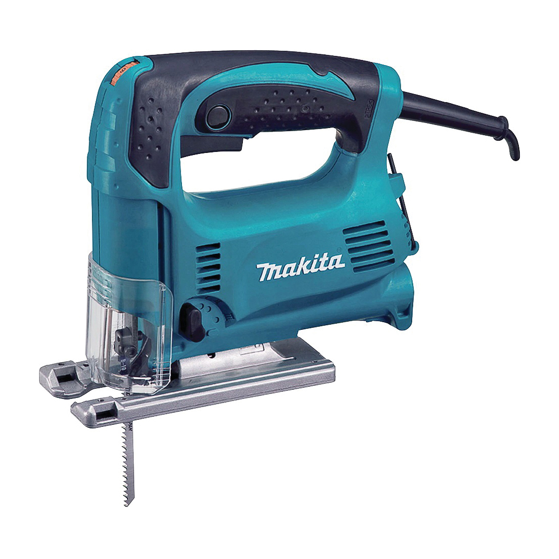 Picture of Makita 4329K Jig Saw, 120 V, 3.9 A, 2-9/16 in Wood, 1/4 in Steel Cutting Capacity, 11/16 in L Stroke