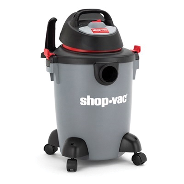 Picture of Shop-Vac 5982600 Wet/Dry Vacuum, 6 gal Vacuum, Cartridge Filter, 3 hp, 120 V