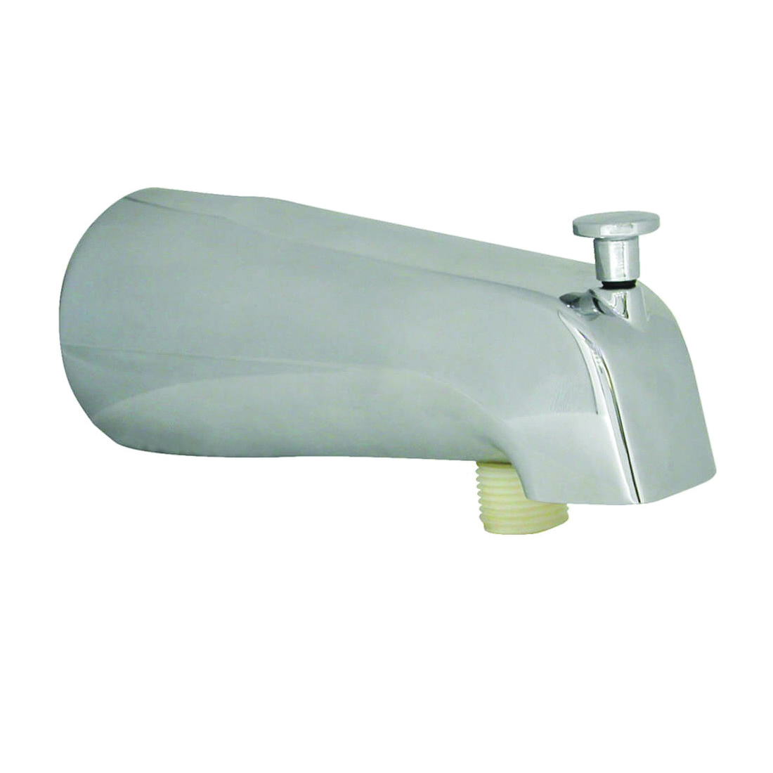 Picture of Danco 89266 Tub Spout, Metal, Chrome, For: 3/4 in and 1/2 in Threads, 1/2 in Copper Slip and 1/2 in Thread in Nose