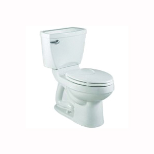 Picture of American Standard Champion 4 Series 2793128NTS.020 Complete Toilet, Elongated Bowl, 1.28 gpf Flush, 12 in Rough-In