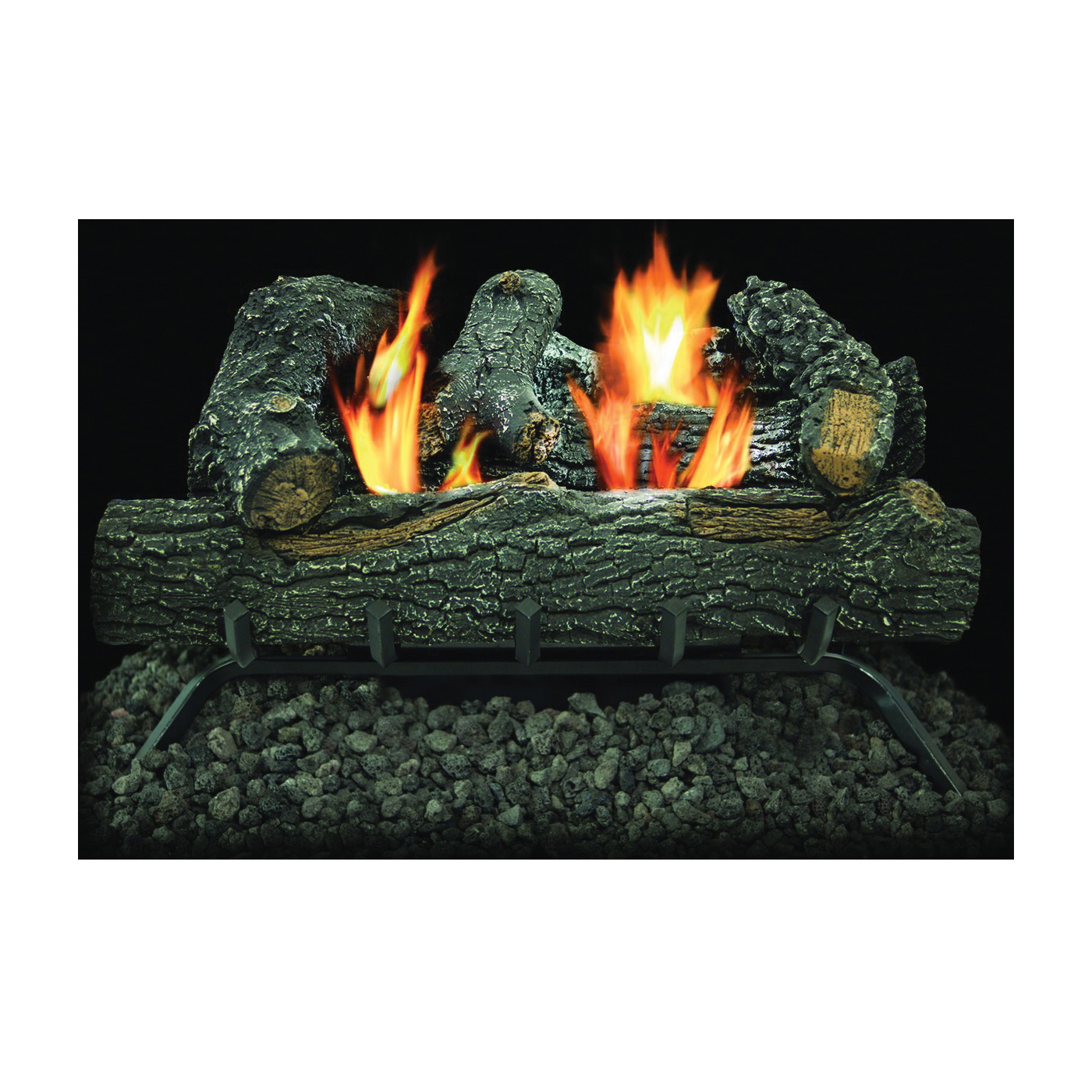 Picture of Kozy World GLD2455T Gas Log Set, 13 in L, 24 in W