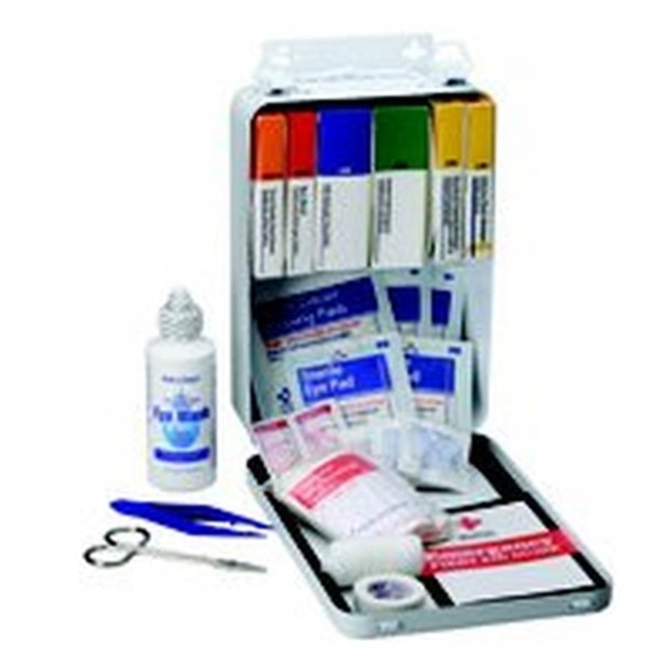 Picture of FIRST AID ONLY 221-U/FAO First Aid Kit, 85 -Piece, Metal