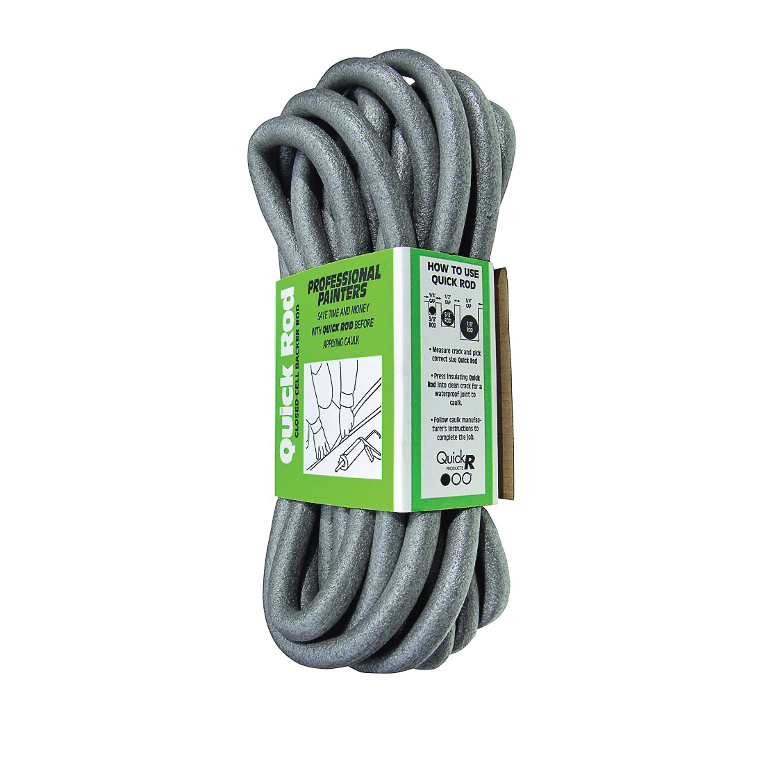 Picture of Quick R BR78040 Backer Rod, 7/8 in Dia, 40 ft L