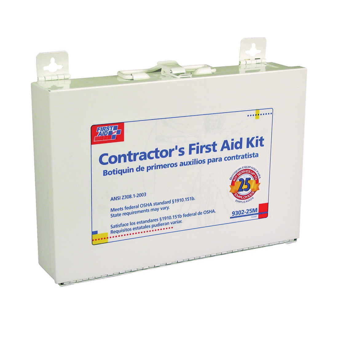 Picture of FIRST AID ONLY 9302-25M First Aid Kit, 179 -Piece