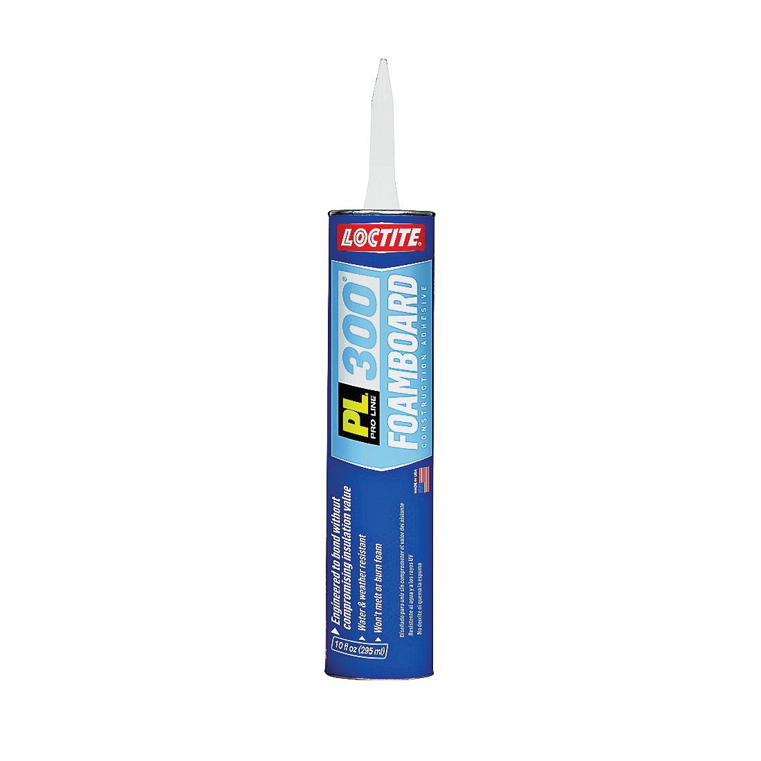 Picture of Loctite 1421941 Foamboard Adhesive, Blue, 10 oz Package, Cartridge
