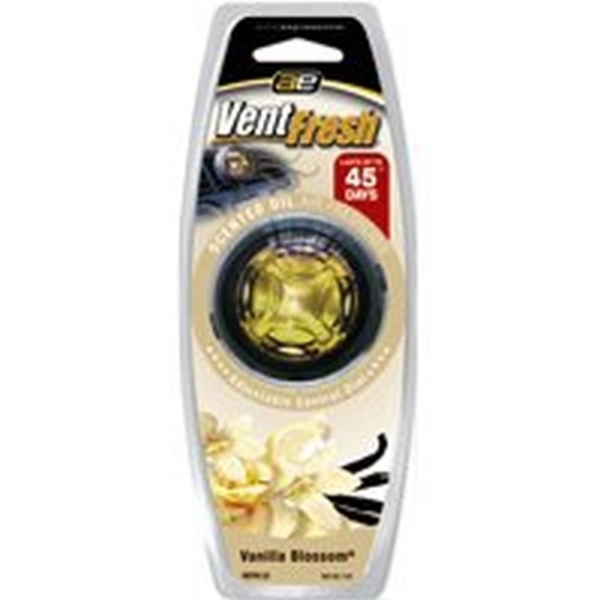 Picture of Auto Expressions Vent Fresh VNTFR-33 Air Freshener, 7 mL Package, Liquid, Vanilla Blossom