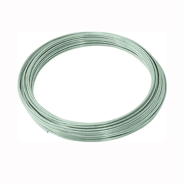 Picture of HILLMAN 50141 Utility Wire, 100 ft L, 12 Gauge, Galvanized Steel