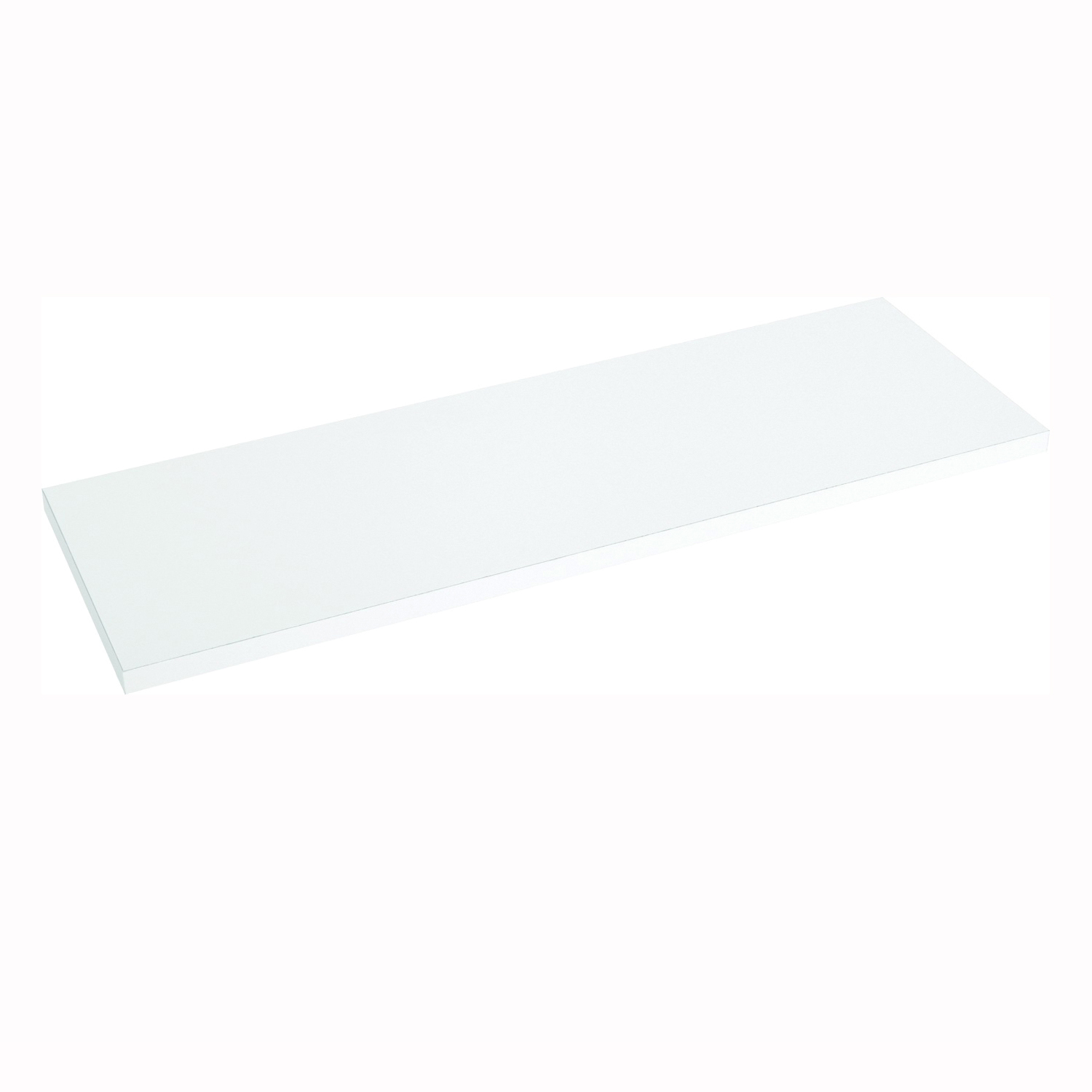 Picture of Knape & Vogt 1980 WH 12X72 Shelf Board, 200 lb, 5-Shelf, 71-7/16 in L, 11-3/4 in W, Particleboard