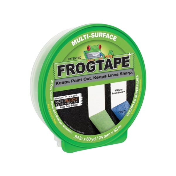 Picture of FrogTape 1358463 Painting Tape, 60 yd L, 0.94 in W, Green