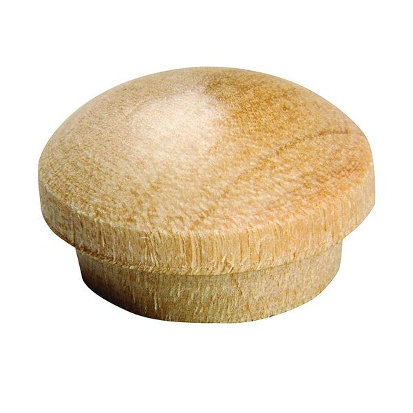 Picture of Waddell 8400.31 OAK CS Screw Hole Button, Oak Wood