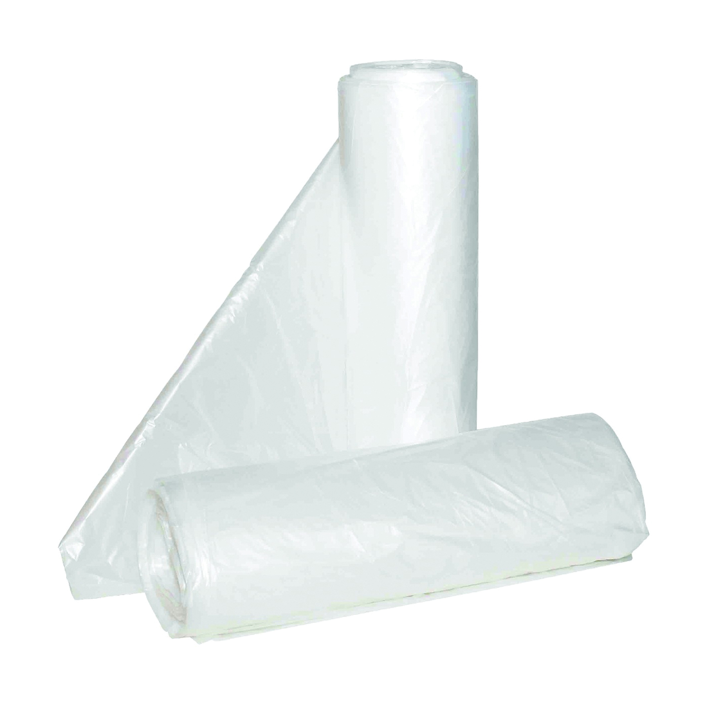 Picture of ALUF PLASTICS Hi-Lene HC HC-243306C Can Liner, 12 to 16 gal Capacity, Polyethylene, Clear