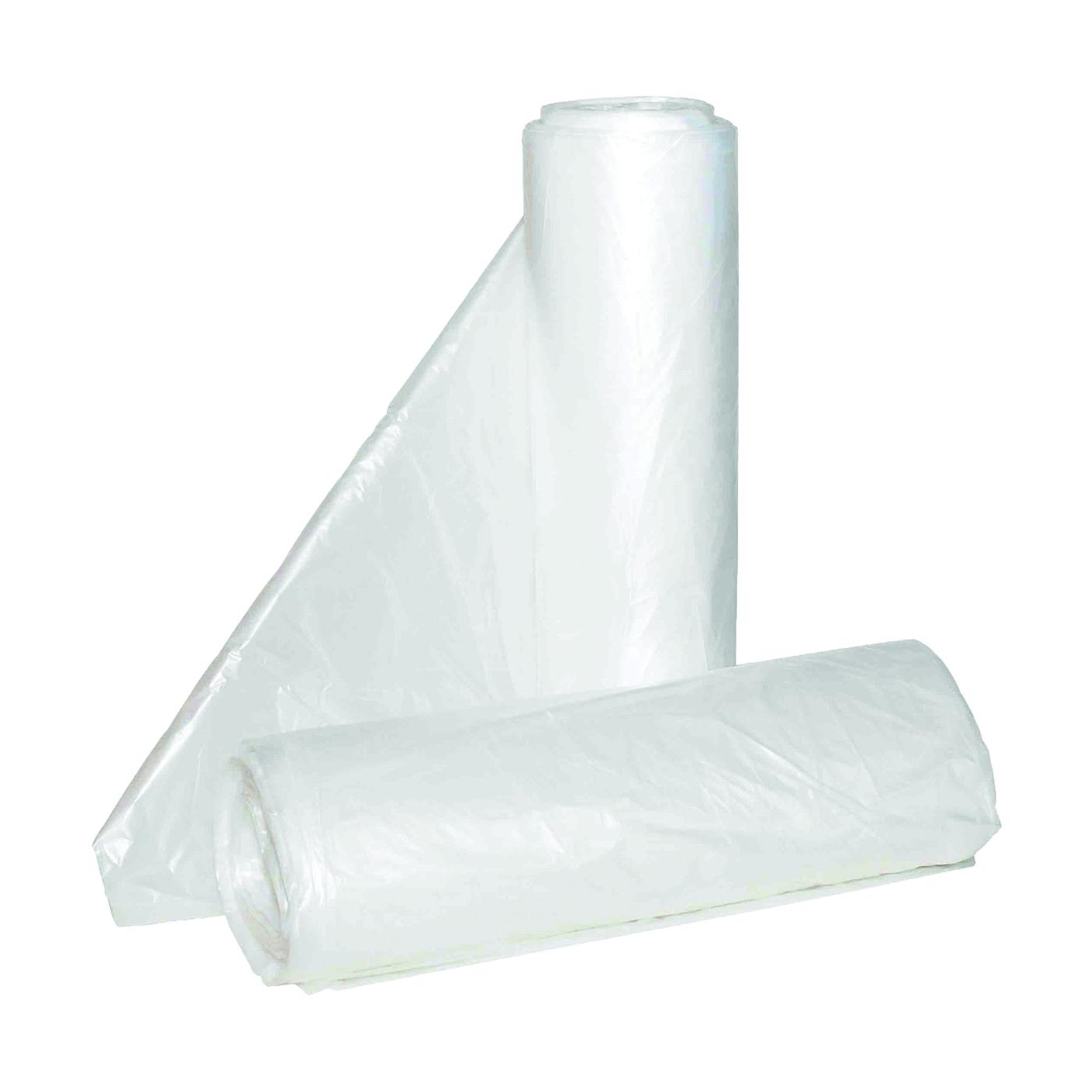 Picture of ALUF PLASTICS Hi-Lene HC HC-404814C Can Liner, 45 gal Capacity, Polyethylene, Clear