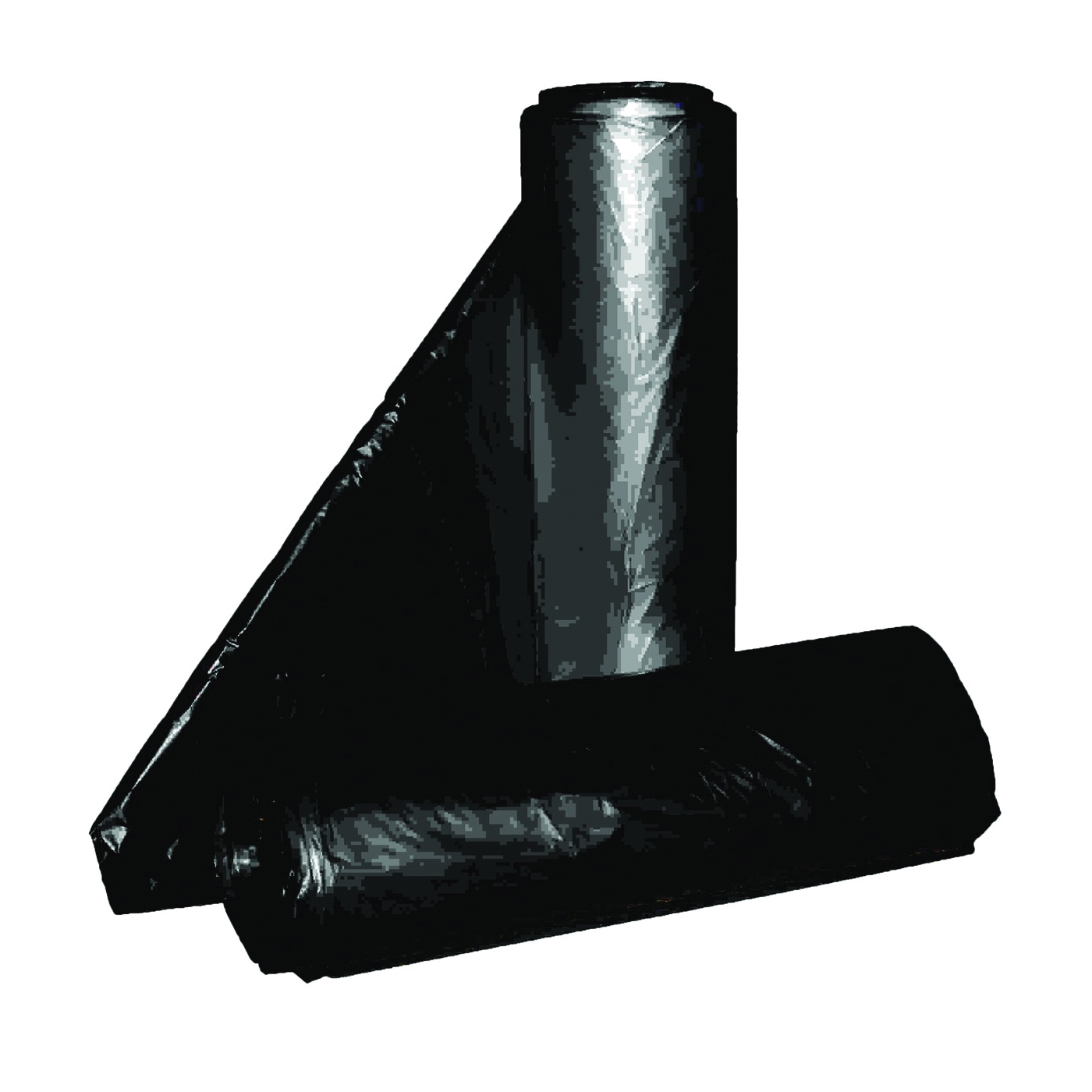Picture of ALUF PLASTICS RL Series RL-4347XXH Can Liner, 56 gal Capacity, Repro Blend, Black
