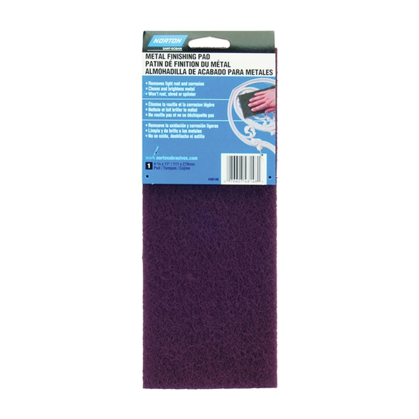 Picture of NORTON 07660748148 Hand Pad, 11 in L, 4-3/8 in W