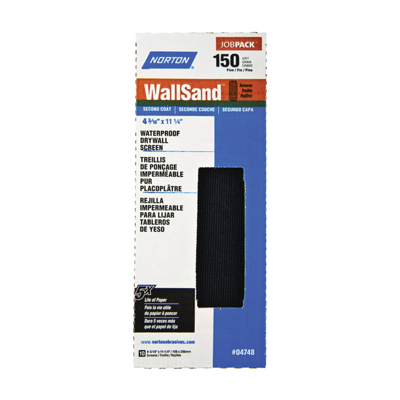 Picture of NORTON 04748 Sanding Paper, 150-Grit, Fine