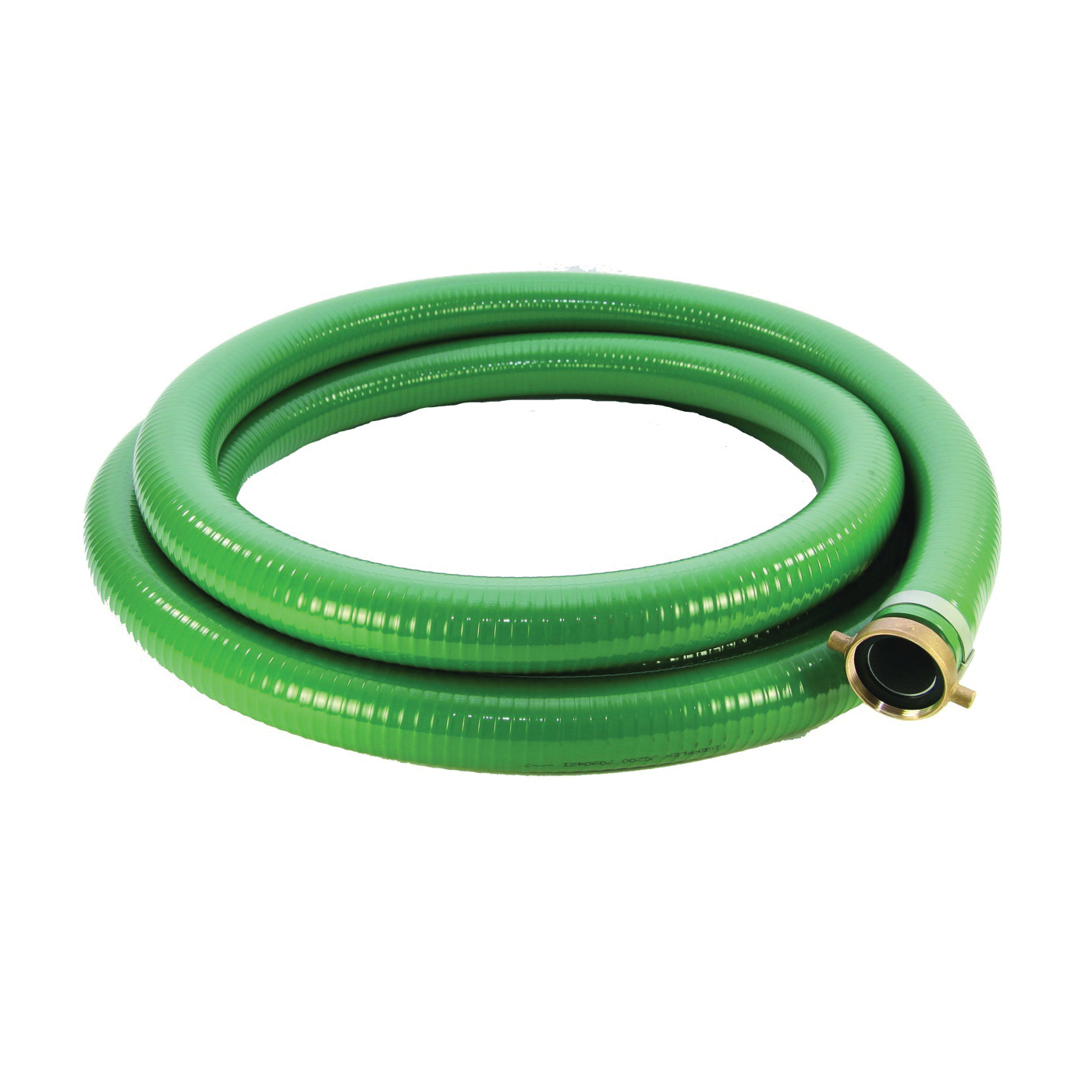 Picture of ABBOTT RUBBER 1240-2000-20 Suction Hose, 2 in ID, 20 ft L, Male Thread x Female, PVC