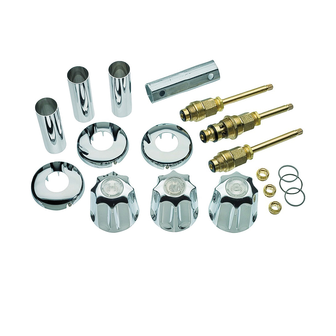 Picture of Danco 39617 Tub/Shower Remodeling Kit, Chrome, For: Gerber Faucets