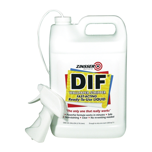 Picture of ZINSSER DIF 2481 Wallpaper Stripper, Liquid, 1 gal Package