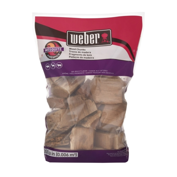 Picture of Weber 17150 Mesquite Wood Chips, 350 cu-in Package