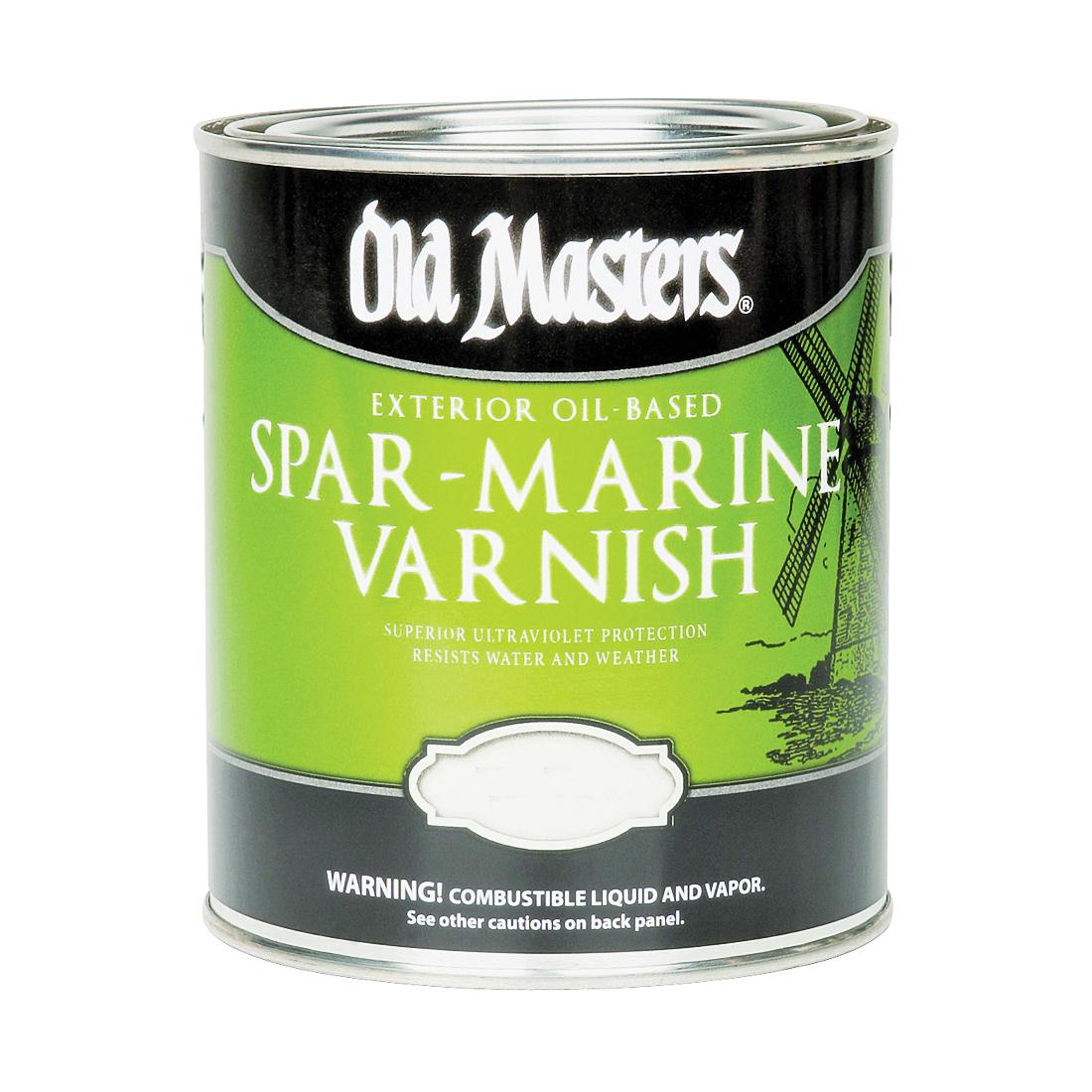 Picture of Old Masters 92301 Spar Marine Varnish, Satin, Liquid, 1 gal, Pail