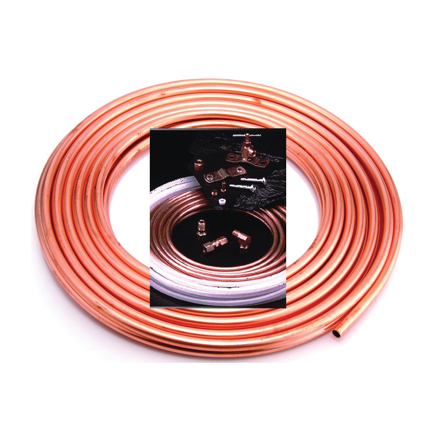 Picture of Anderson Metals 760005 Ice Maker Kit, Copper, For: Evaporative Coolers, Humidifiers, Icemakers