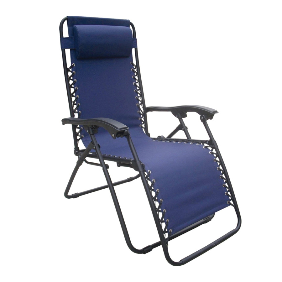 Picture of Seasonal Trends F5325O-1BKOX60 Relaxer Chair, 250 lbs Capacity