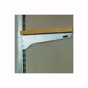 Picture of Knape & Vogt BK-0101 Shelf Bracket, 100 lb, 11 in L, Steel, Galvanized