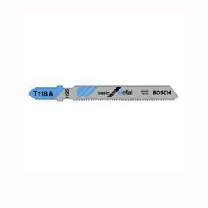 Picture of Bosch T318A Jig Saw Blade, 5-1/4 in L, 24 TPI