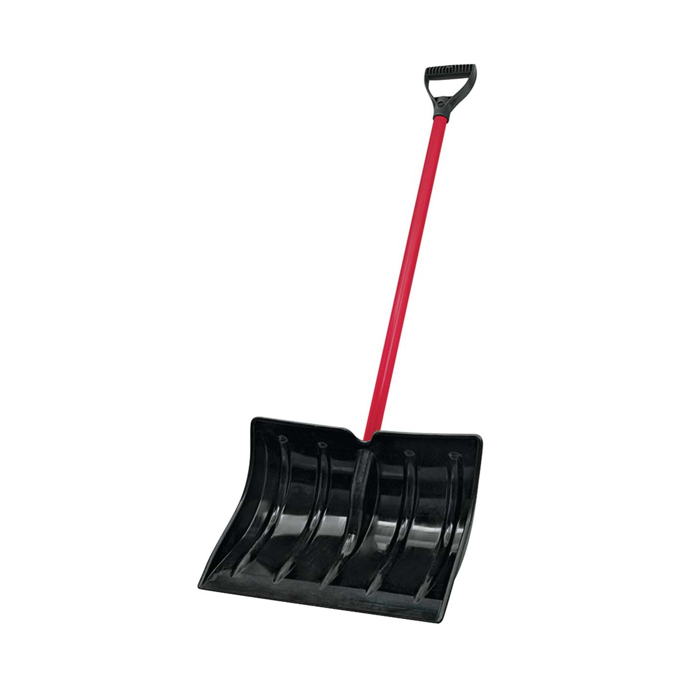 Picture of Vulcan 34633 Snow Shovel, 18 in L Blade, Poly Blade, Steel Handle
