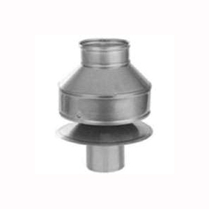 Picture of SELKIRK 196802 Anti-Downdraft Cap, 5-3/4 x 7 in Dia, Stainless Steel
