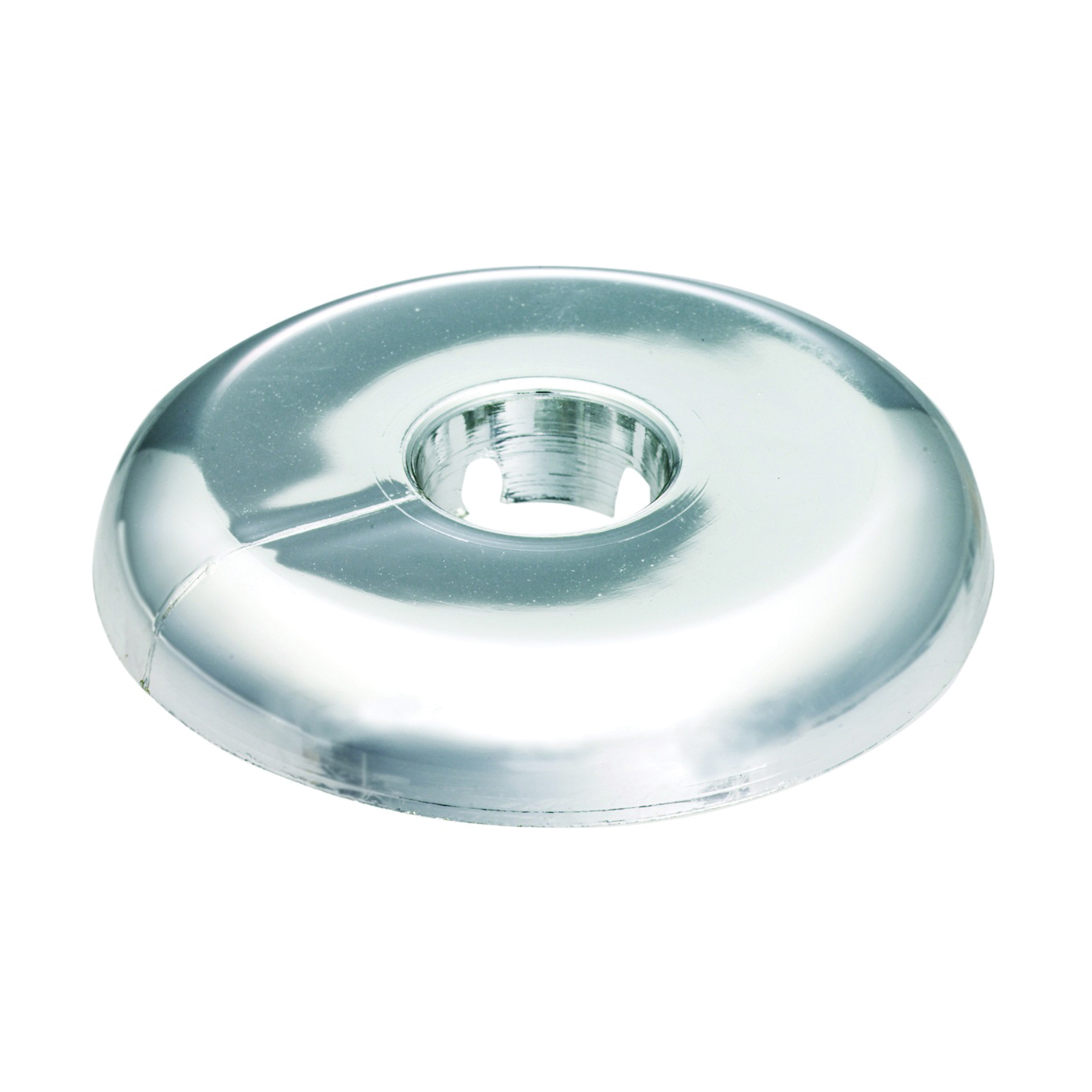 Picture of Plumb Pak PP811-12 Floor and Ceiling Plate, 4-3/4 in W, Plastic, Chrome