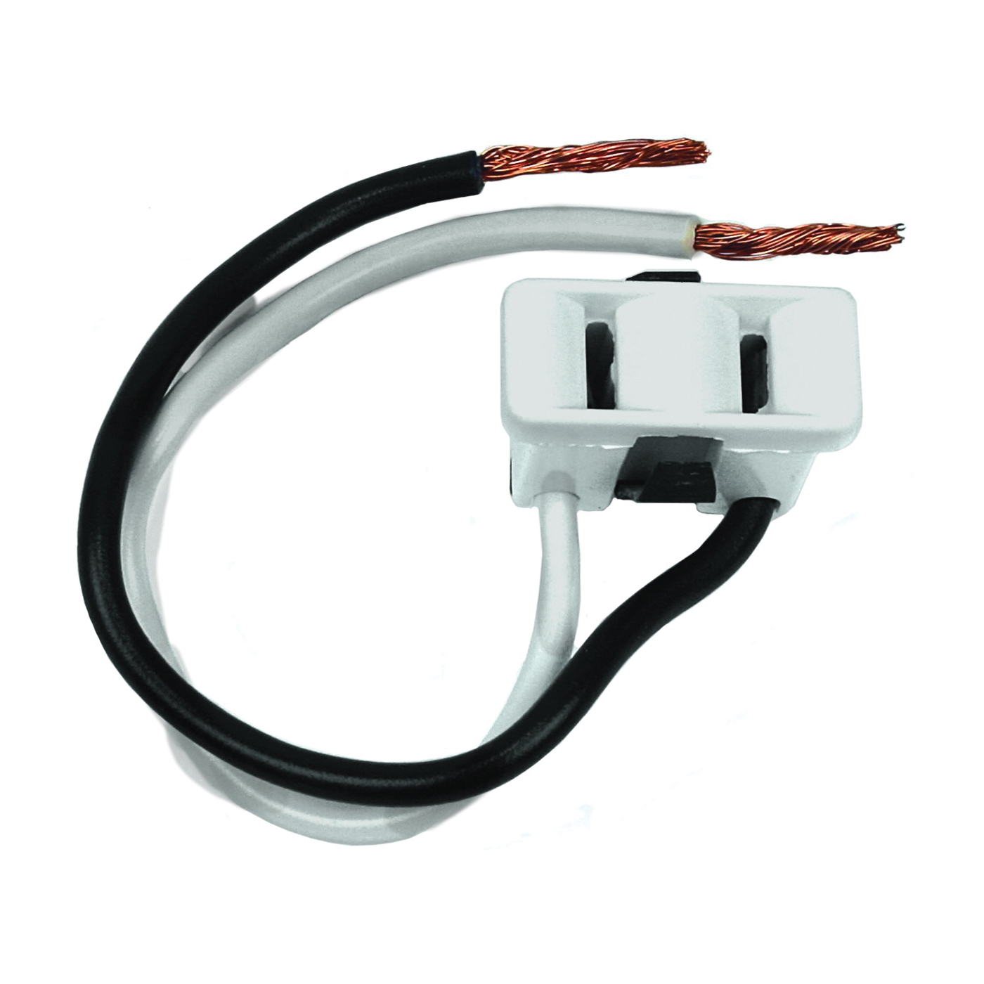 Picture of Jandorf 61015 Single Receptacle, 2-Pole, 125 V, 15 A, White