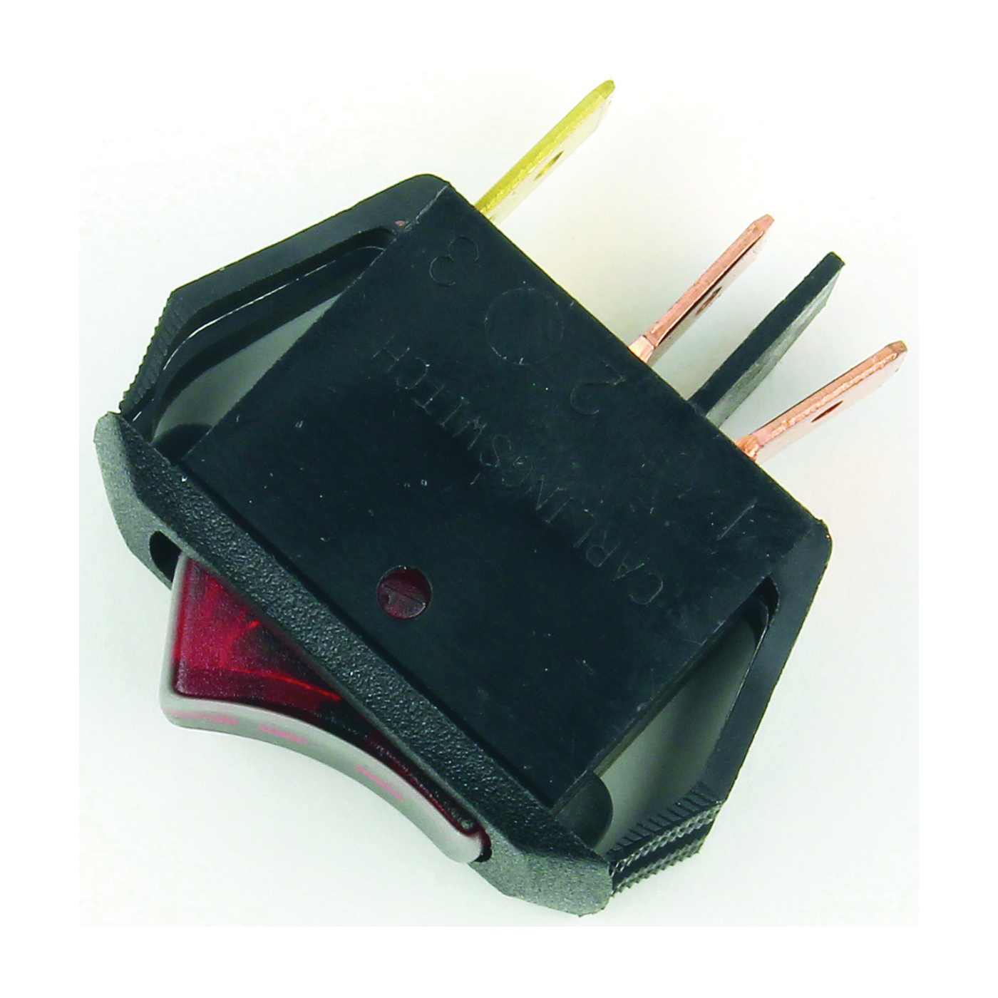 Picture of Jandorf 61038 Rocker Switch, 10 A, 30 V, SPST, Tab Terminal