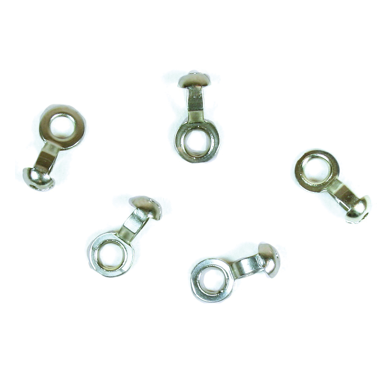 Picture of Jandorf 60357 Pull Chain Coupling, #6 Chain, Nickel