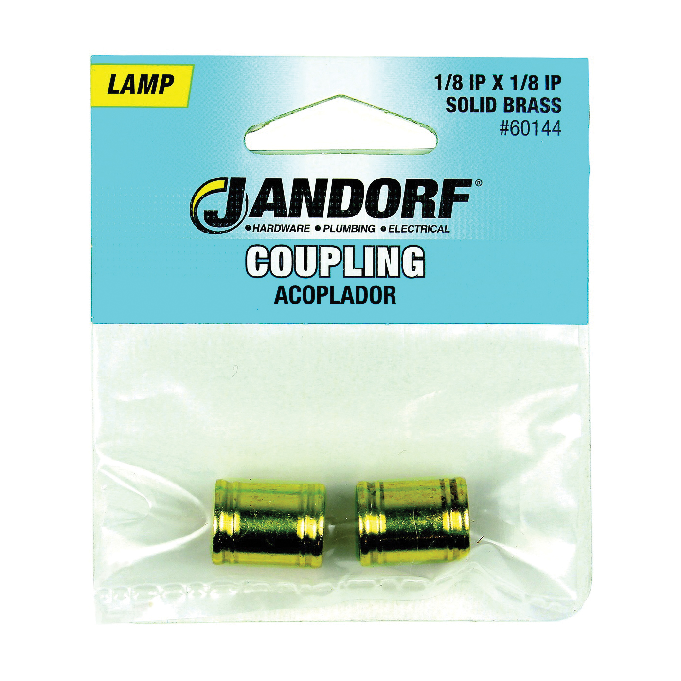 Picture of Jandorf 60144 Lamp Coupling, Brass