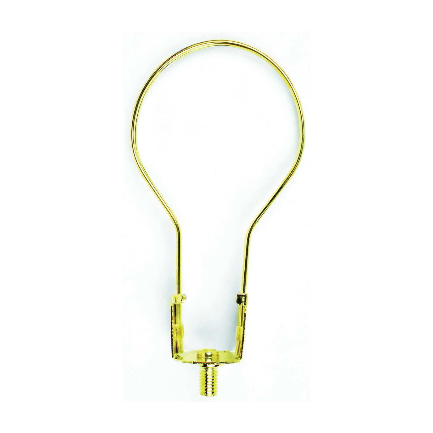 Picture of Jandorf 60120 Clip-On Lamp Shade Adapter, Brass Fixture
