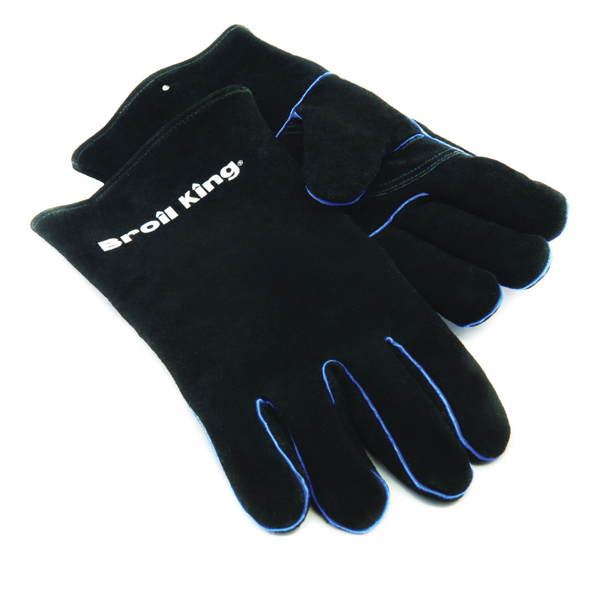 Picture of Broil King 60528 Grill Gloves, Leather, Black