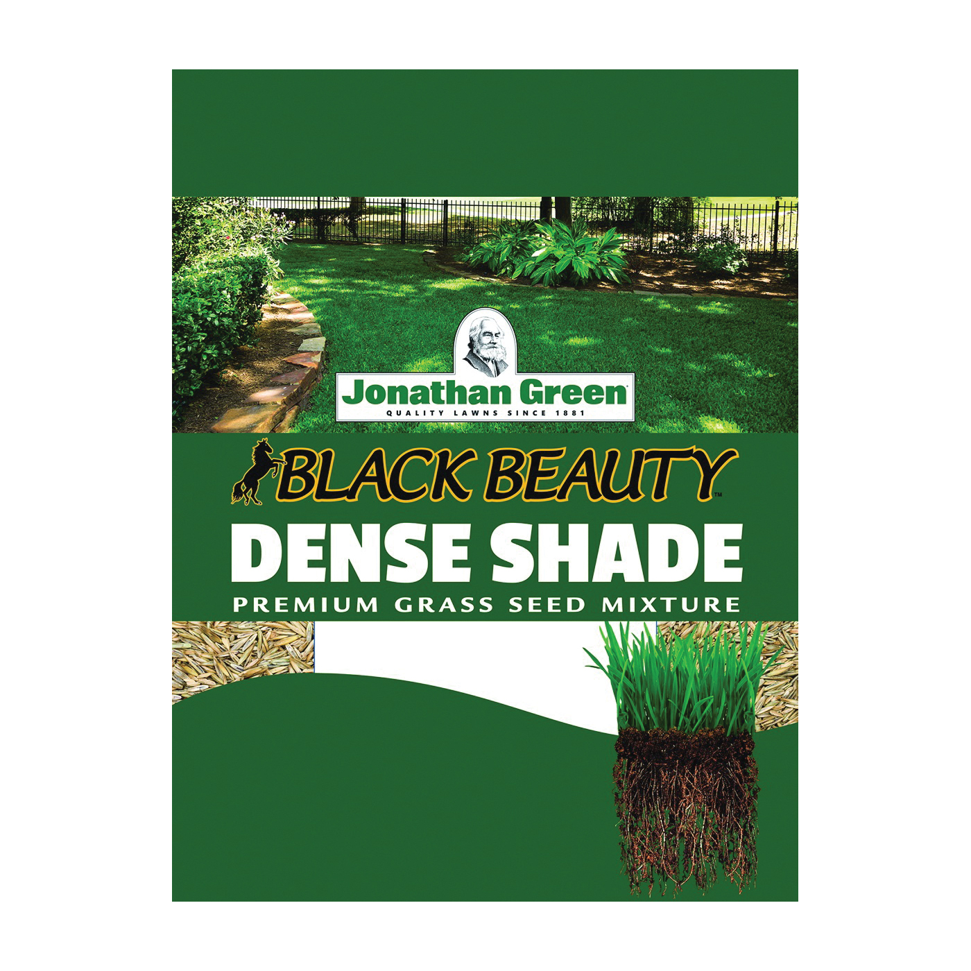Picture of Jonathan Green Black Beauty 10620 Grass Seed, 7 lb Package, Bag