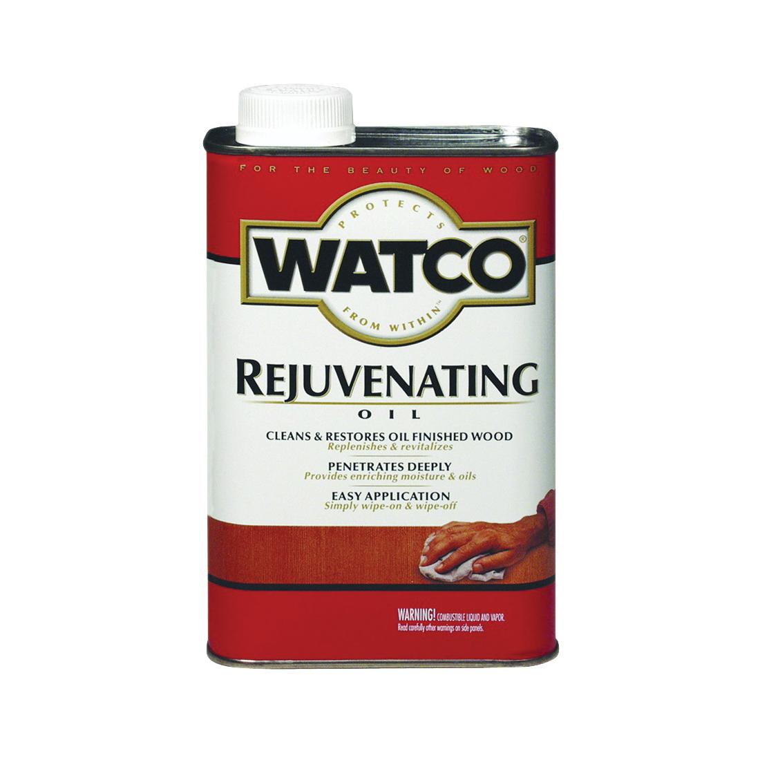 Picture of WATCO 66051H Rejuvenating Oil, Satin, Liquid, 1 pt, Can
