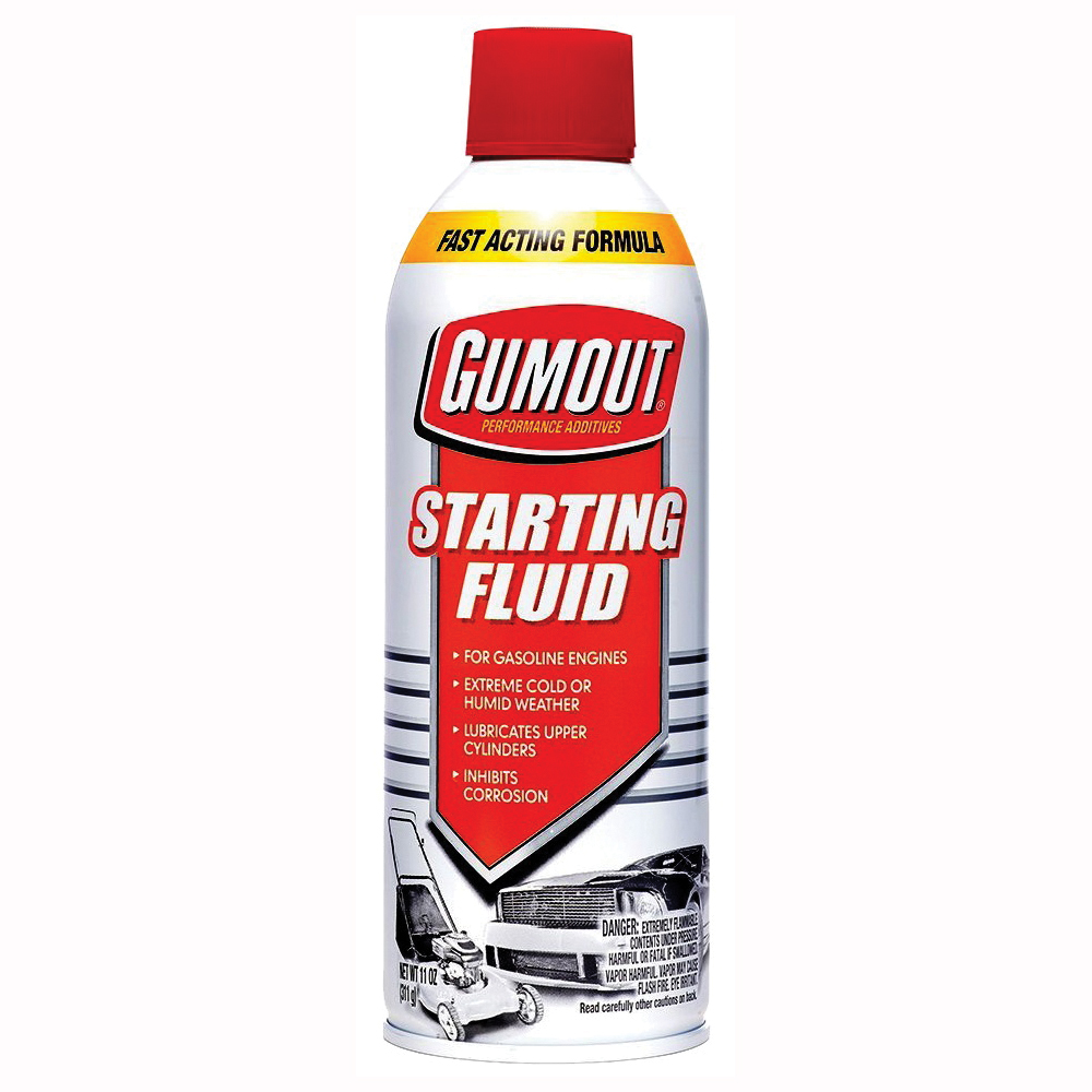 Picture of Gumout 5072866 Starting Fluid, 11 oz Package, Aerosol Can
